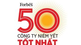 Top 50 công ty niêm yết tốt nhất do Fobes bình chọn
